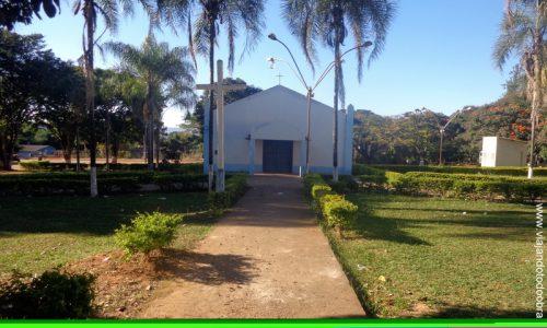 Água Fria de Goiás - Praça da Igreja de Nossa Senhora de Fátima