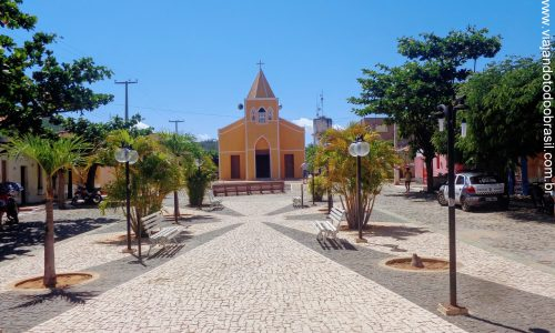 Água Nova - Praça da Igreja Matriz Nossa Senhora de Fátima