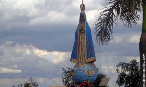 Águas Lindas de Goiás - Imagem em homenagem a Nossa Senhora Aparecida