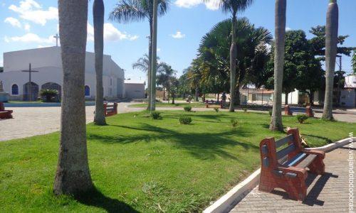 Abadia de Goiás - Praça da Igreja Matriz de Nossa Senhora D'Abadia