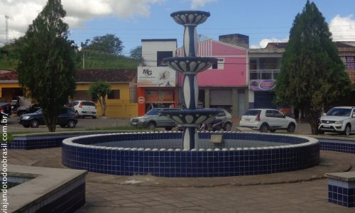 Alagoa Grande - Chafariz na Praça Coronel Elísio Sobreira