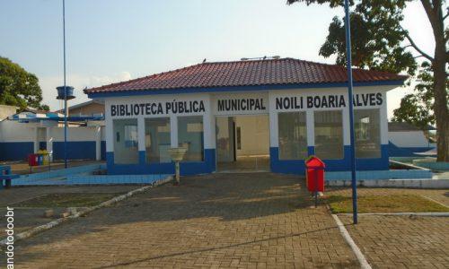 Alvorada D'Oeste - Biblioteca Pública Municipal Noili Boaria Alves