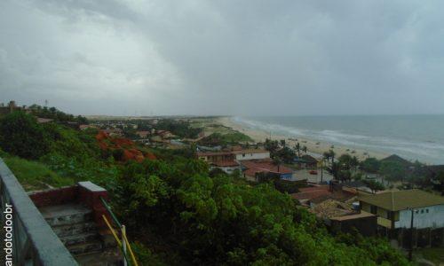 Beberibe - Vista da Praia do Morro Branco