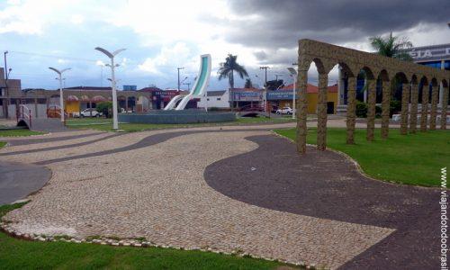 Caiapônia - Praça Fuad Nasser