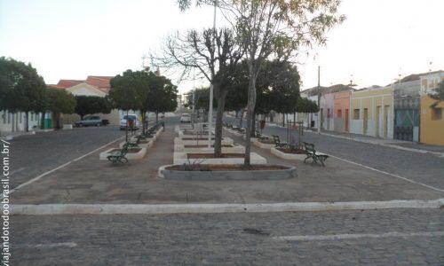 Caraúbas - Praça Doutor Mauro Farias