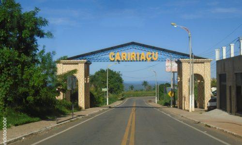 Caririaçu - Pórtico na entrada da cidade