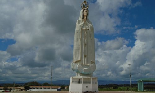 Crato - Imagem em homenagem a Nossa Senhora de Fátima