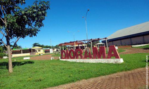 Diorama - Praça Uesdar de Jesus Lima