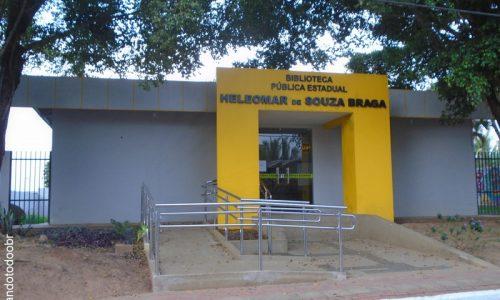 Epitaciolândia - Biblioteca Pública Municipal Heleomar de Souza Braga