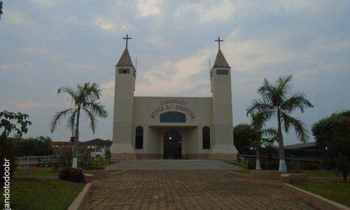 Espigão D'Oeste - Praça da Igreja de Nossa Senhora Aparecida