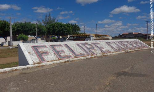 Felipe Guerra - Letreiro na entrada da cidade
