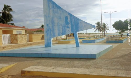 Galinhos - Praça