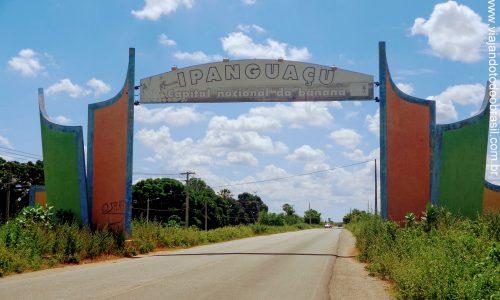 Ipanguaçu - Pórtico na entrada da cidade