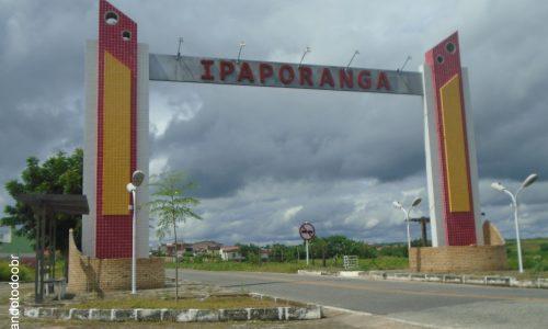 Ipaporanga - Portal na entrada da cidade