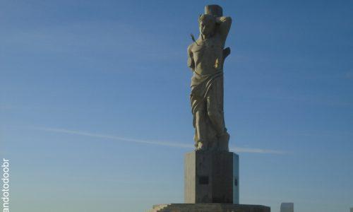 Ipaumirim - Imagem em homenagem a São Sebastião