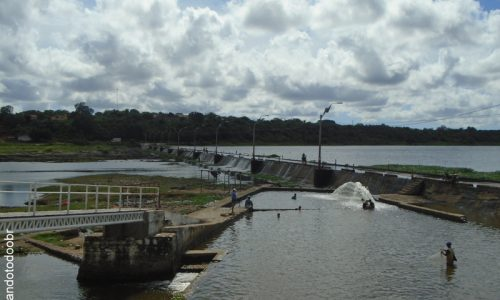 Itaiçaba - Barragem do Rio Jaguaribe