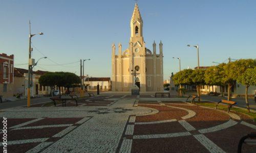 Jaguaruana - Praça da Matriz