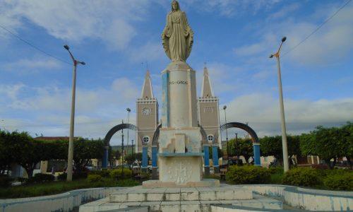 Jardim - Praça de Nossa Senhora das Graças