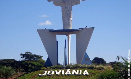 Joviânia - Letreiro na entrada da cidade
