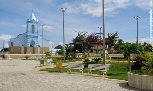 Lajes - Praça Monsenhor Vicente de Paiva