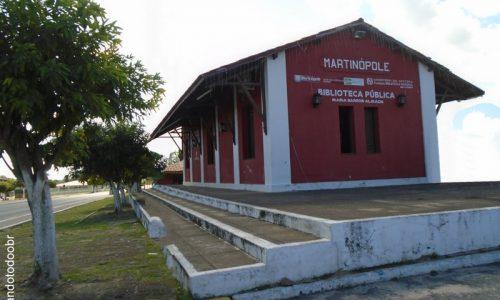 Martinópole - Biblioteca Pública Municipal Maria Barros Almada