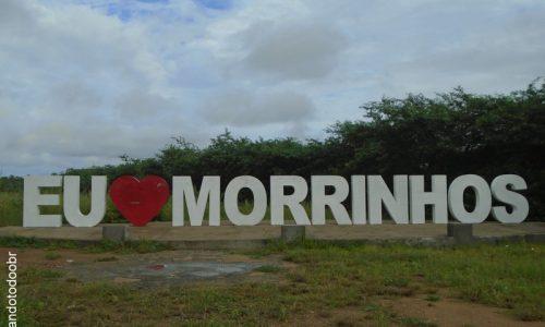 Morrinhos - Letreiro na entrada da cidade