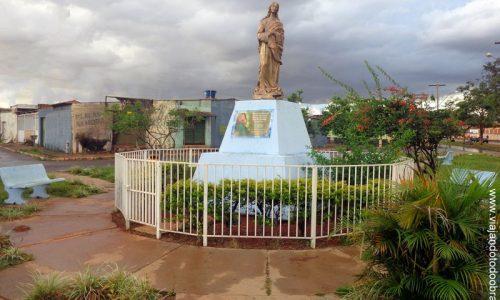 Novo Gama - Imagem em homenagem a Nossa Senhora da Conceição