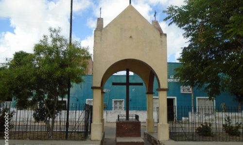 Ocara - Cruzeiro da Igreja Matriz da Sagrada Família