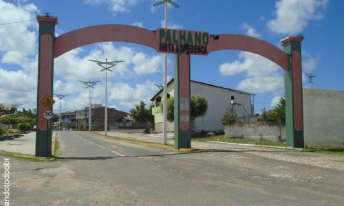 Palhano - Portal na Entrada da Cidade