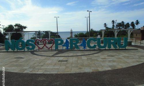 Paracuru - Letreiro da Praça José Batista de Carvalho