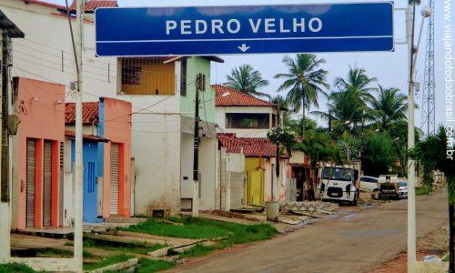 Pedro Velho - Pórtico na entrada da cidade