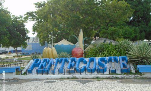 Pentecoste -  Letreiro da Praça CSU