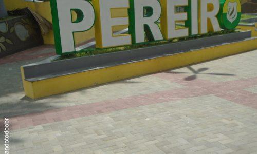 Pereiro - Letreiro na Praça da Matriz