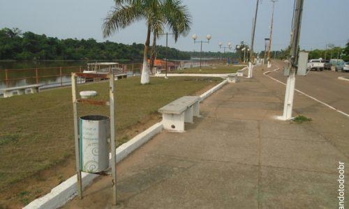 Pimenteiras do Oeste - Praça do Rio Guaporé
