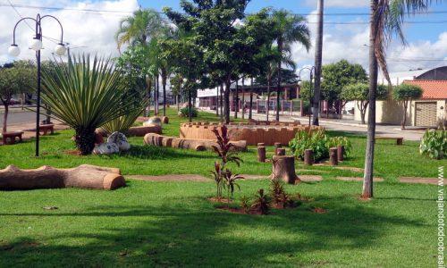 Piranhas - Praça Aldacira Ferreira da Silva