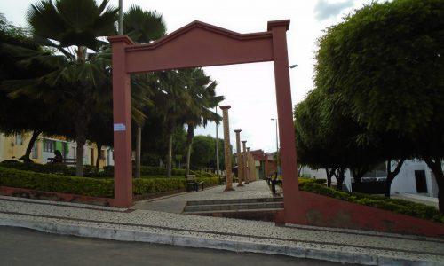 Porteiras - Praça da Prefeitura