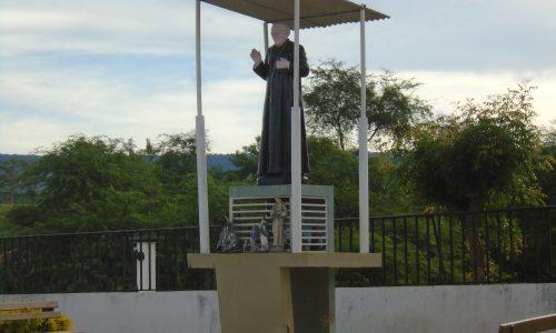 Porteiras - Imagem em homenagem a Padre Cícero