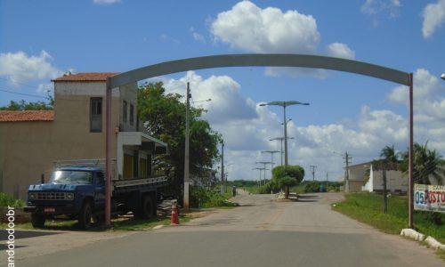 Quiterianópolis - Pórtico na entrada da cidade