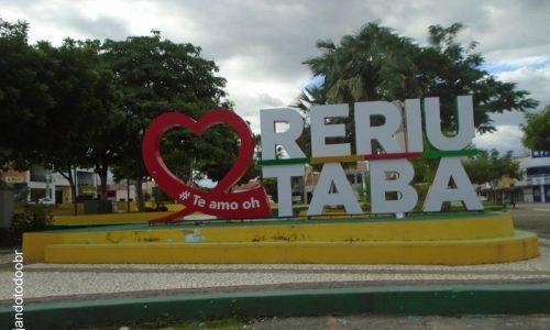 Reriutaba - Letreiro da Praça Monsenhor José Ataide