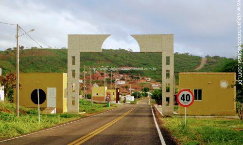 Ruy Barbosa - Pórtico na entrada da cidade