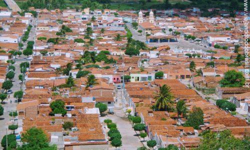 São José do Campestre - Vista parcial da cidade