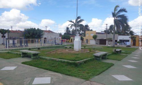 São José do Campestre - Praça João Batista de Oliveira