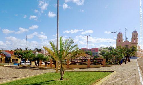 São Paulo do Potengi - Praça Monsenhor Expedito