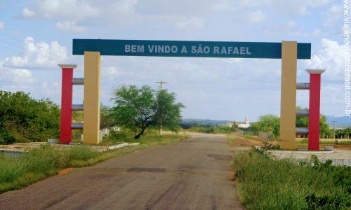 São Rafael - Pórtico na entrada da cidade