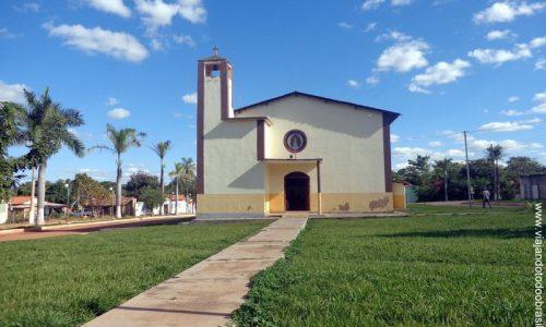 Sítio D'Abadia - Praça da Igreja Matriz de Nossa Senhora D'Abadia