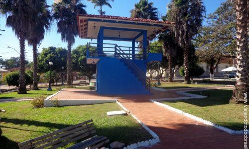 Santa Cruz de Goiás - Praça Padre Julião