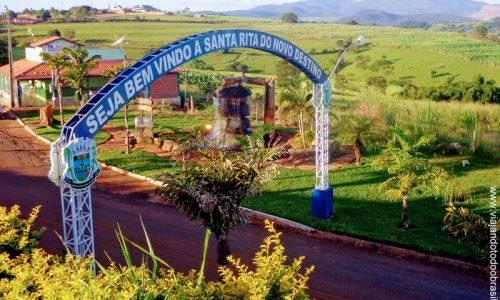 Santa Rita do Novo Destino - Pórtico na entrada da cidade
