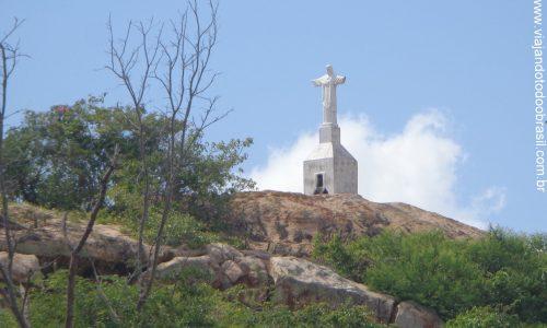 Senador Elói de Souza - Imagem em homenagem ao Cristo Redentor