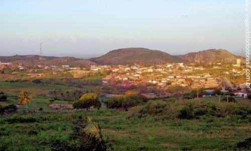 Serra de São Bento - Vista parcial da cidade
