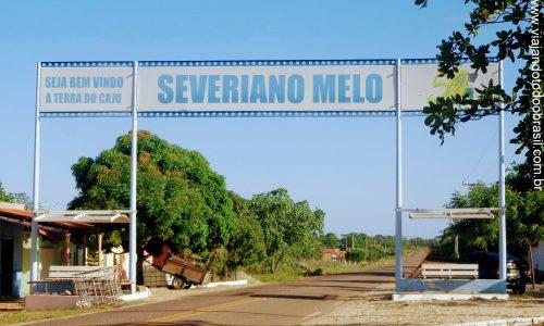 Severiano Melo - Pórtico na entrada da cidade